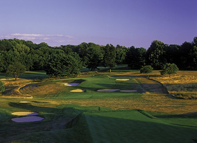 6. Somerset Hills Country Club, Bernardsville, N.J.; 2nd hole, 205 yards, par 3