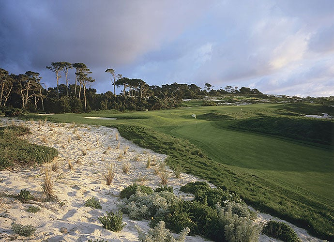 9. 4th Hole, Spyglass Hill Golf Course, Pebble Beach, Calif.; par 4, 370 yards