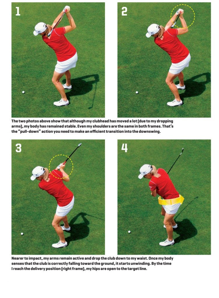 Stacy Lewis: How I Pure Every Iron