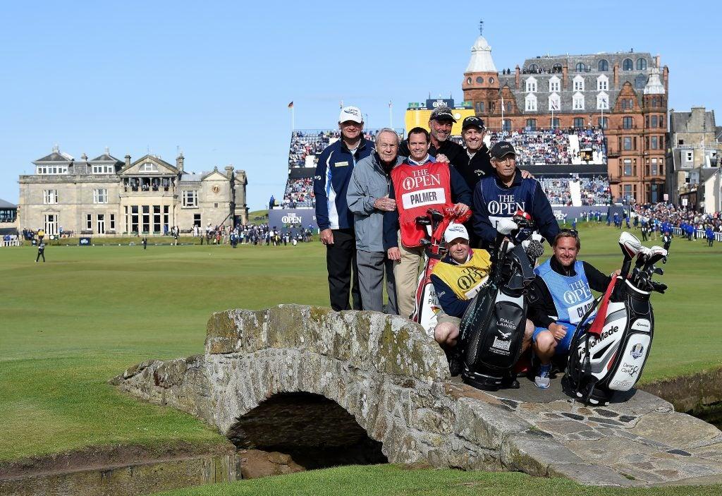 Arnold Palmer, 2015 British Open, Champion Golfers' Challenge