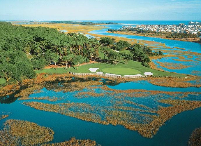 6. Myrtle Beach, S.C. (Pictured: Tidewater Golf Club)
