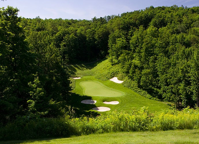 3. Gaylord, Mich. (Pictured: Treetops Resort and Spa)