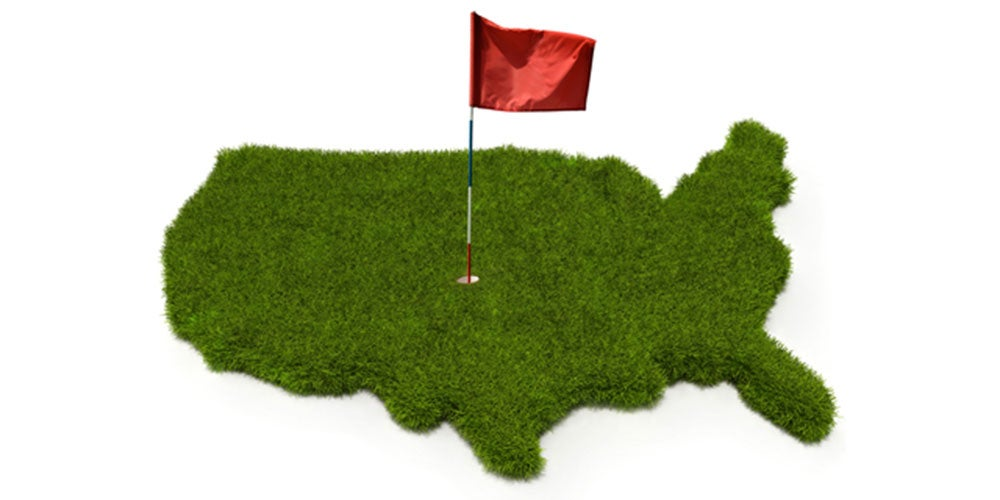 The United States of Golf: All 50 States Ranked By Their Golfiness