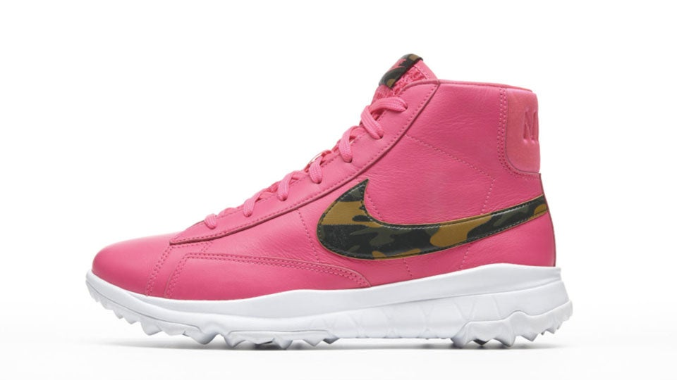 outlet store 9b2a9 db760 Michelle Wie, Nike Launch New Womens Blazer Shoes