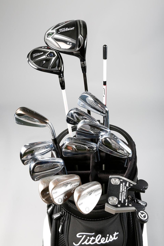 Golf Equipment Adam Scott S Leist Clubs