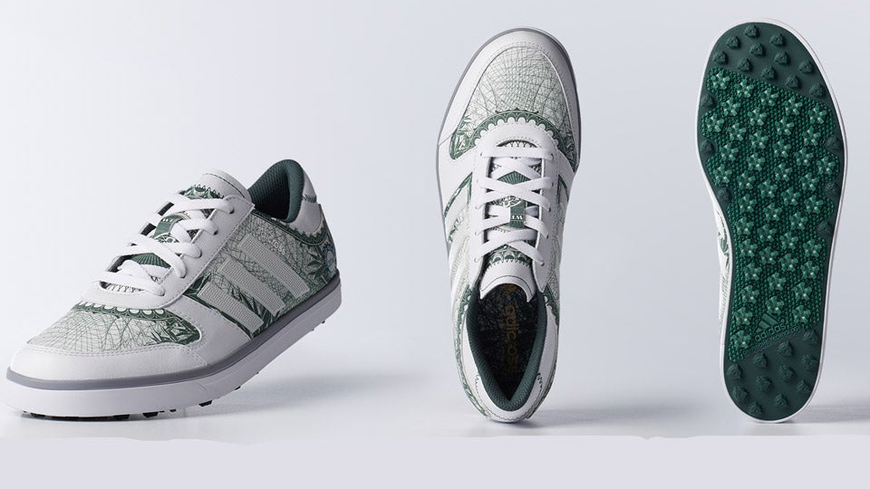 Adidas Unveils Big Check Special Edition Golf Shoes for FedEx Cup
