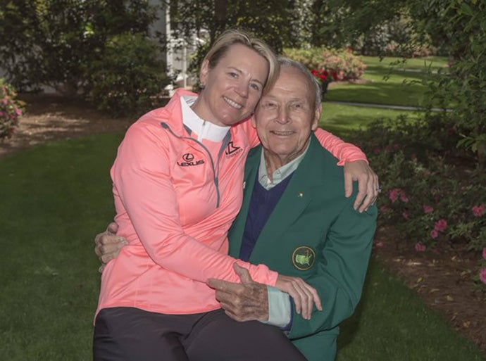 Annika Sorenstam & Arnold Palmer