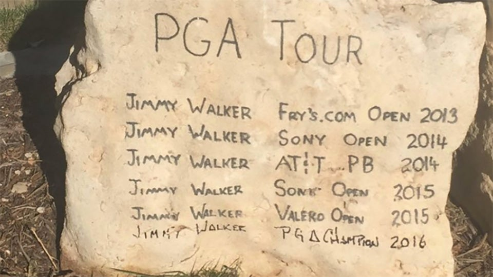 jimmy walkers home club adds pga championship win to