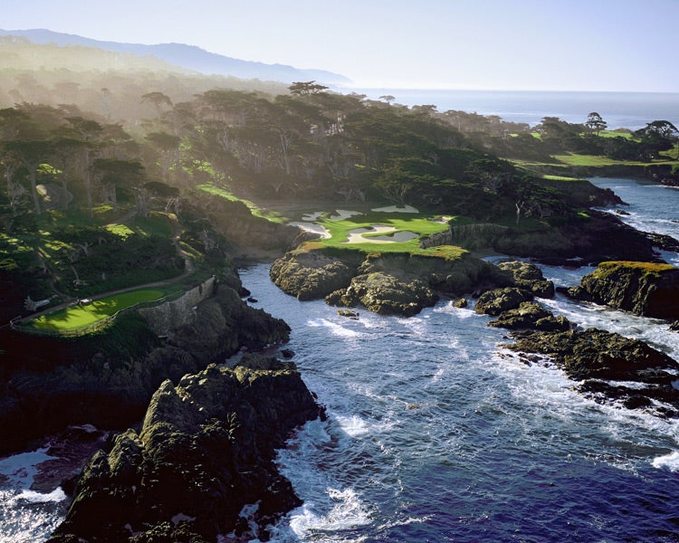 5. 15th Hole, Cypress Point Club, Pebble Beach, Calif.; par 3, 135 yards