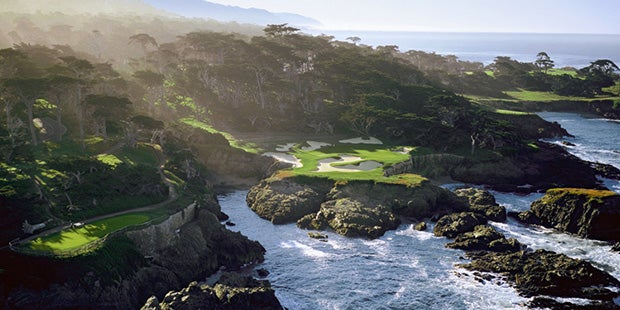 Cypress Point, the undisputed king of the peninsula.