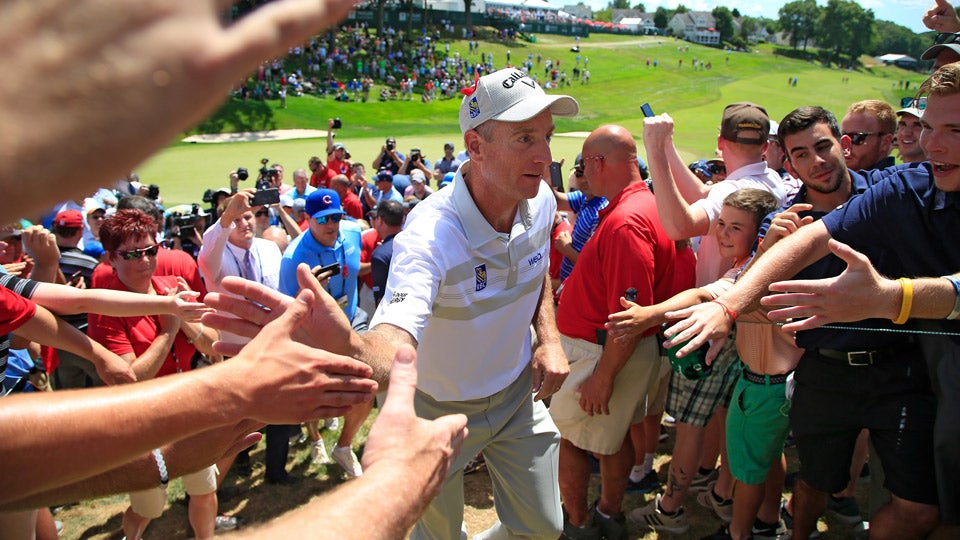 jim furyk fires pga tour record 58 sunday at travelers