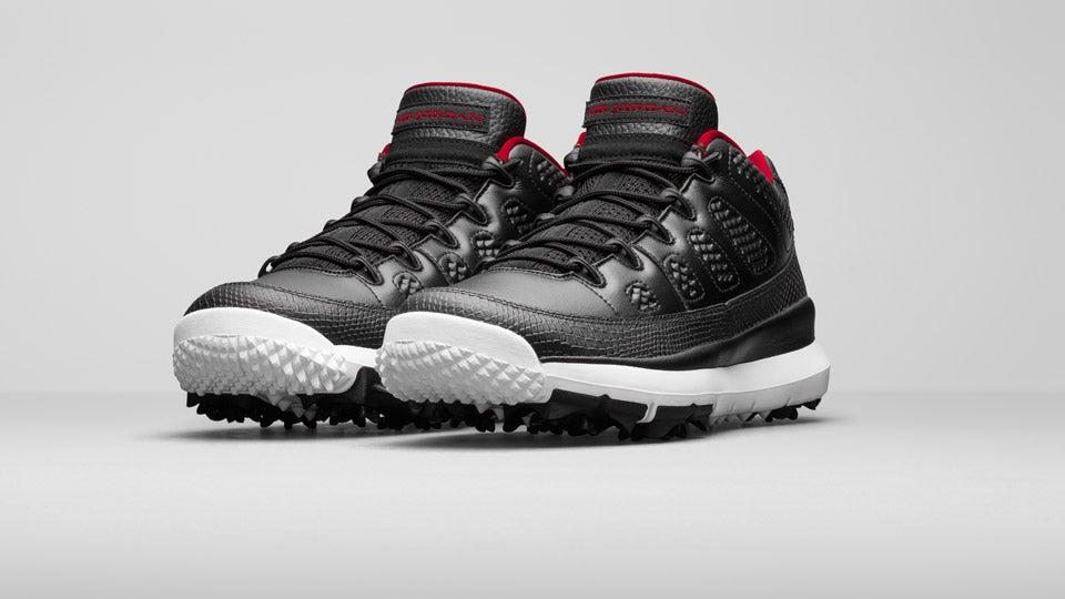 sports shoes 4c478 1999d Nike Jordan IX Retro Golf Shoe, New Nike Golf Shoes