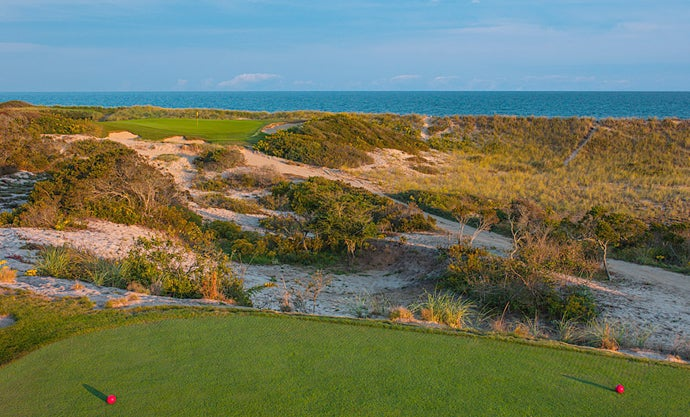 11. 14th Hole, Maidstone Club, East Hampton, N.Y.; par 3, 152 yards