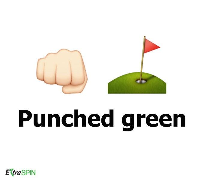 Funny golf themed emojis