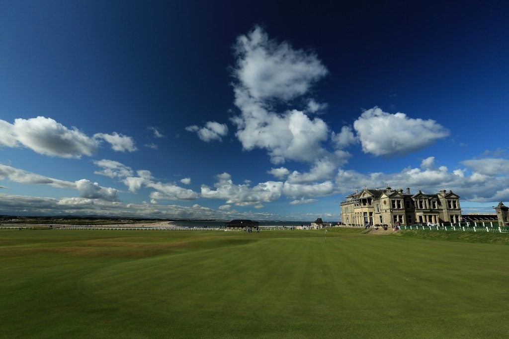1. The Royal & Ancient Golf Club of St. Andrews, St. Andrews, Scotland