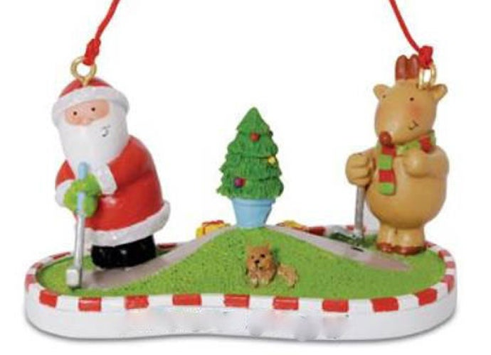 6 of 81 ebay - 81 Unique Christmas Ornaments For Golf Fans