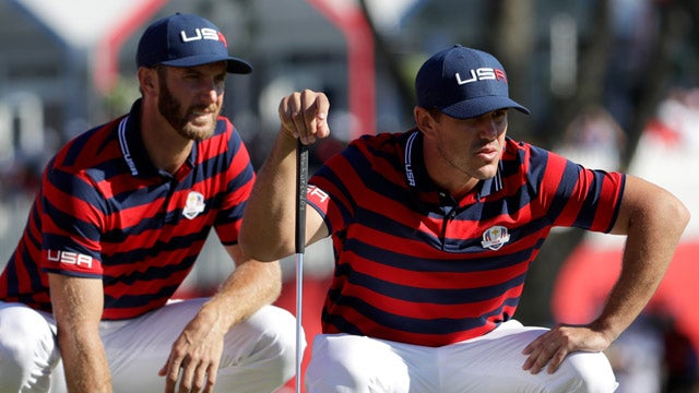 Image result for dustin johnson brooks koepka