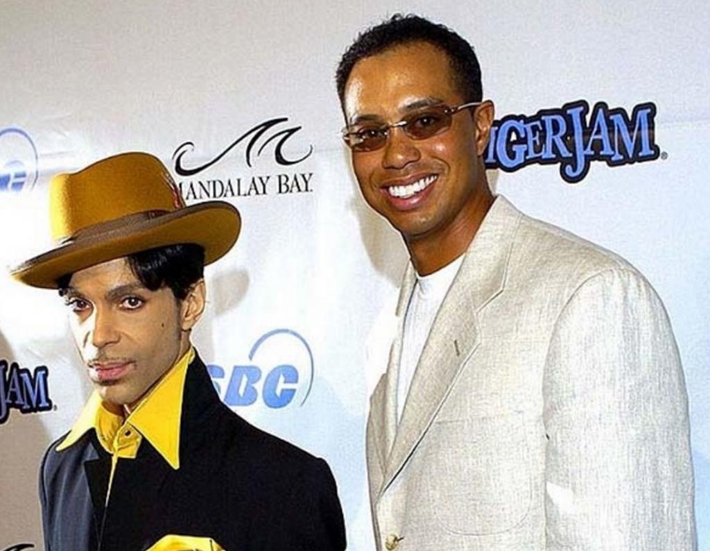 Tiger Woods & Prince
