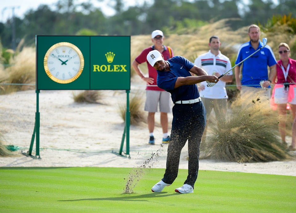 Woods shot a seven-under 65 to get to 6 under for the tournament.