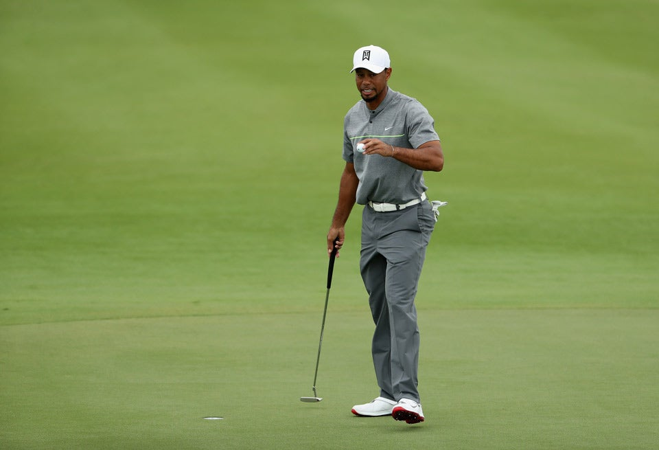 Tiger Woods during the third round Saturday at the Hero World Challenge.