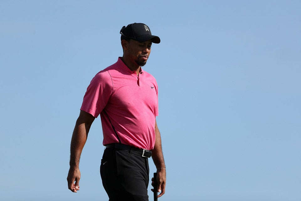 Tiger Woods on Tuesday.