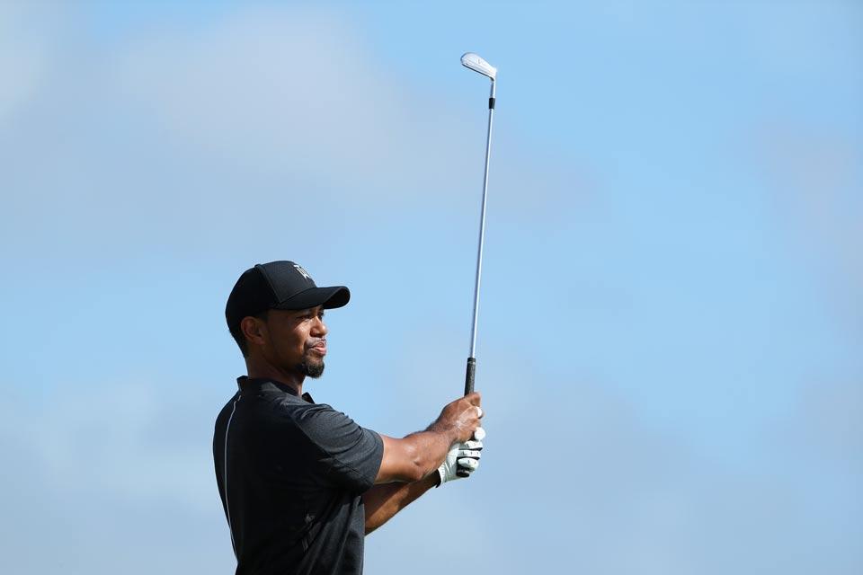 Tiger Woods on Thursday.