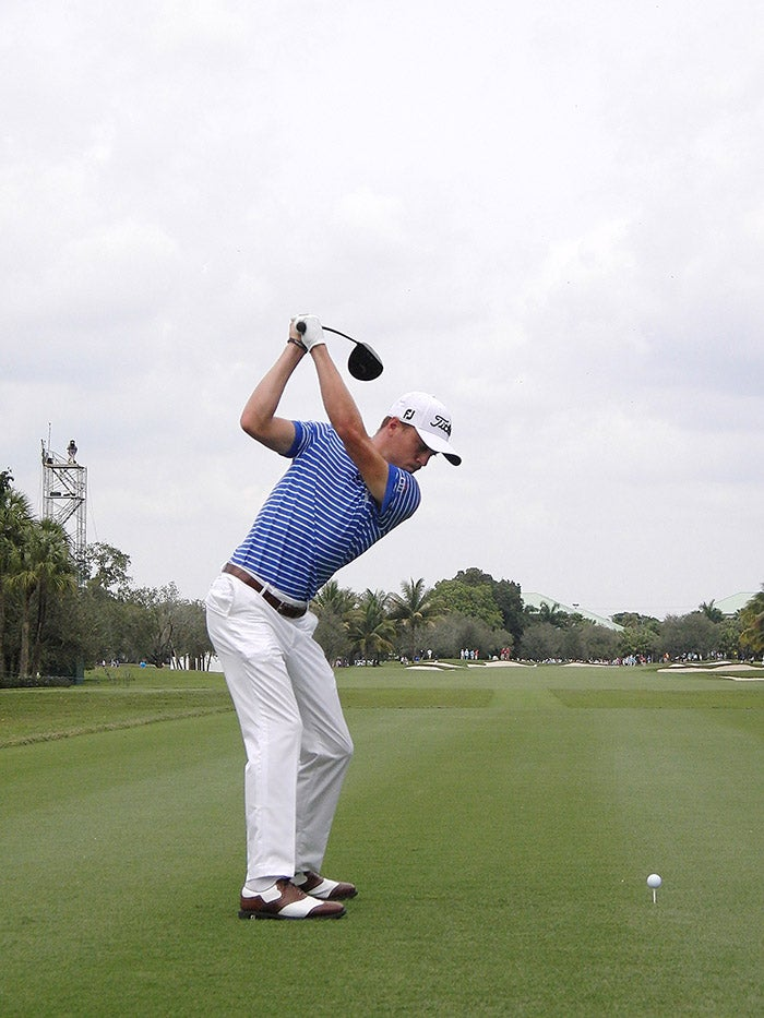 Justin Thomas Swing Sequence March 2016