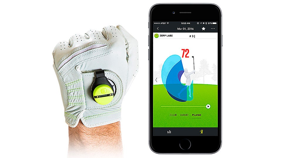 ZEPP 2 Swing Analyzer, $150