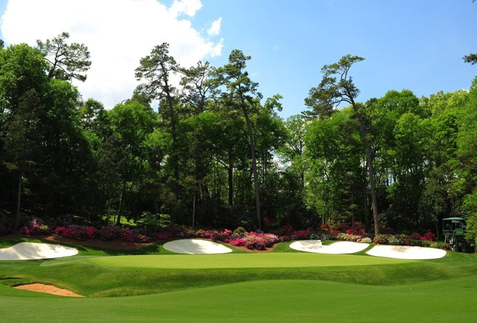 Augusta National Golf Club, Augusta, Ga.; 13th hole, par 5, 510 yards