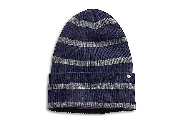 Sperry Rugby Stripe Slouch Beanie, $15.99