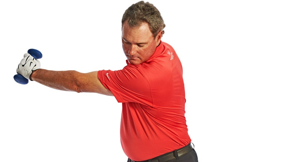 For a Great Backswing, Don't Be a Dumbbell — Use One!
