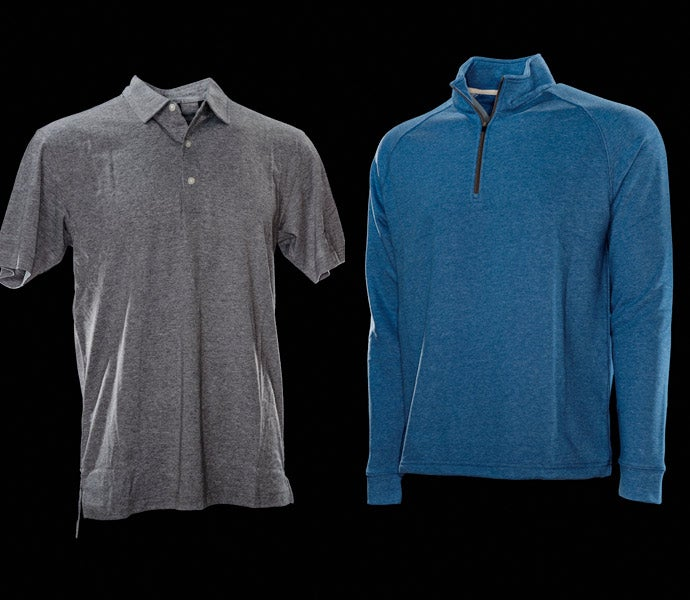 Dunning Natural Hand One-quarter Zip, Natural Hand Polo, $89/$79