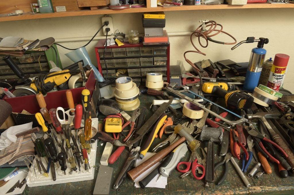 Arnold Palmer's Workbench