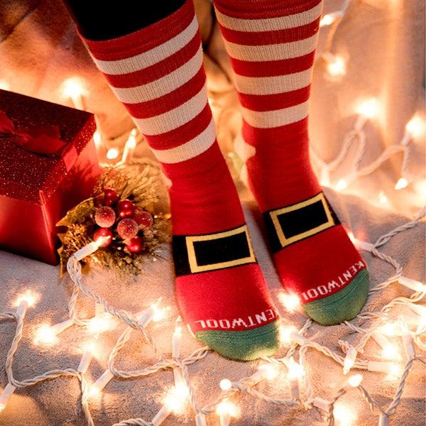 Kentwool Santa Socks, $19.95