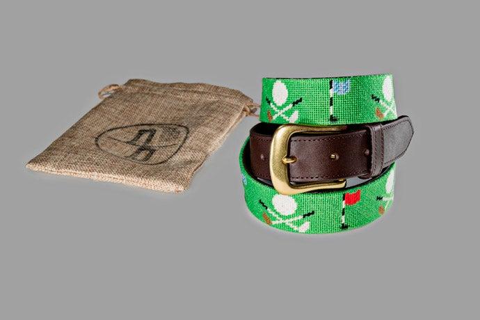 Never Back, The Golden Bear Belt, $95.00
