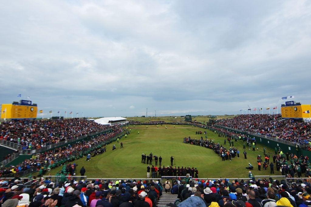 2020 British Open: Royal St. George's Golf Club, Sandwich, England.
