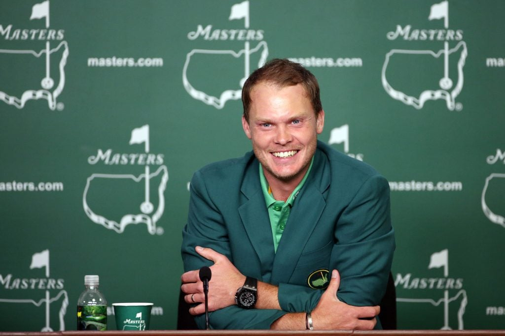 2016: Danny Willett