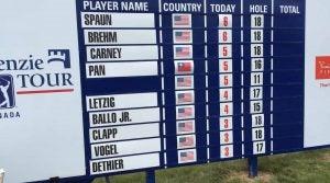 Dylan Dethier golf