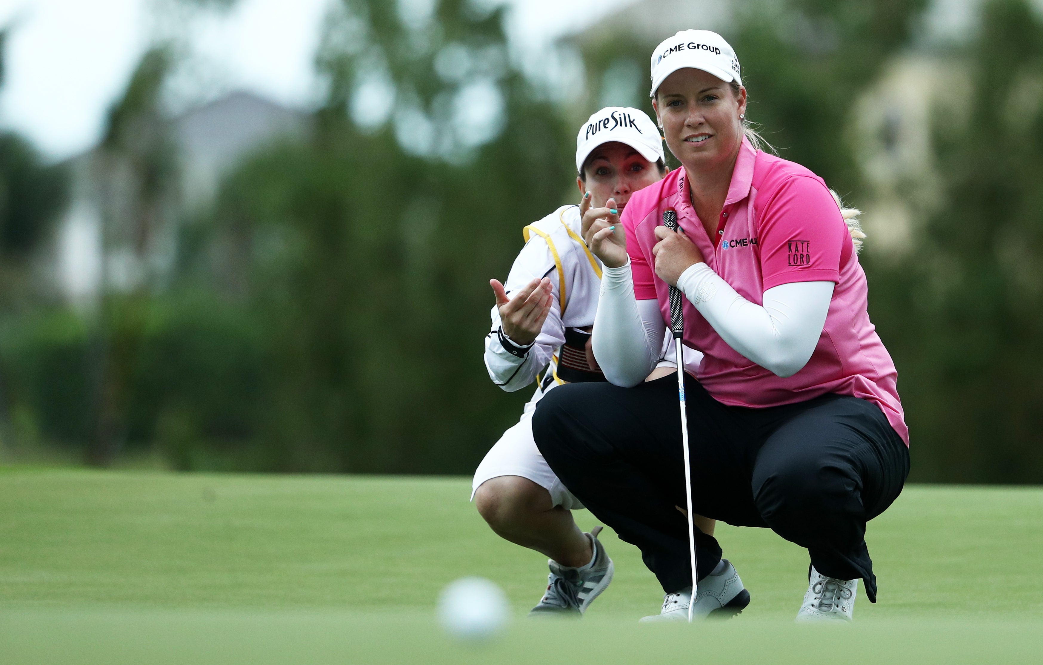 Brittany Lincicome stands by support of caddie alignment rule