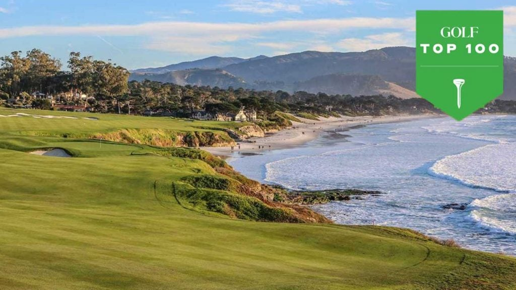 The 9th hole at Pebble Beach Golf Links.