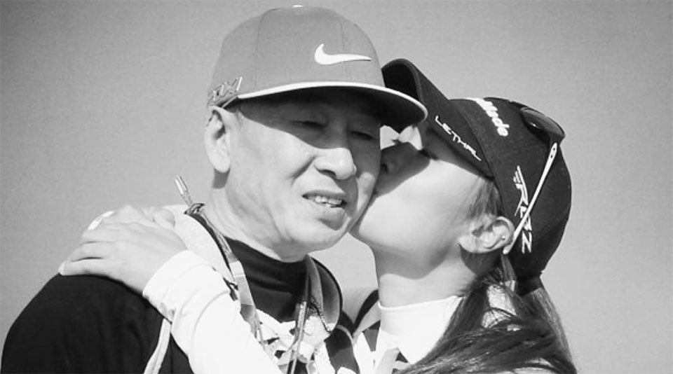 Danielle Kang Honors Late Dad With Caddie Bib Tribute