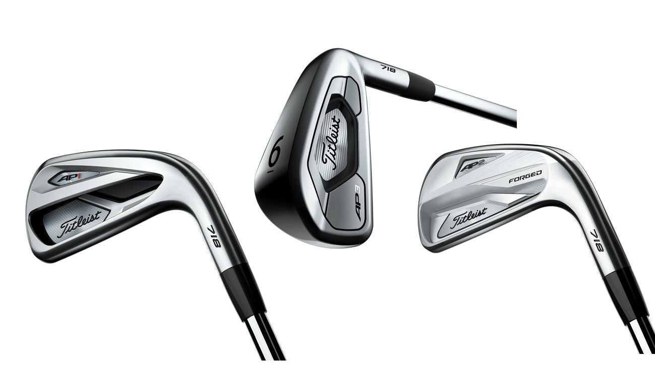 Titleist unveils new 718 irons, including brand-new AP3