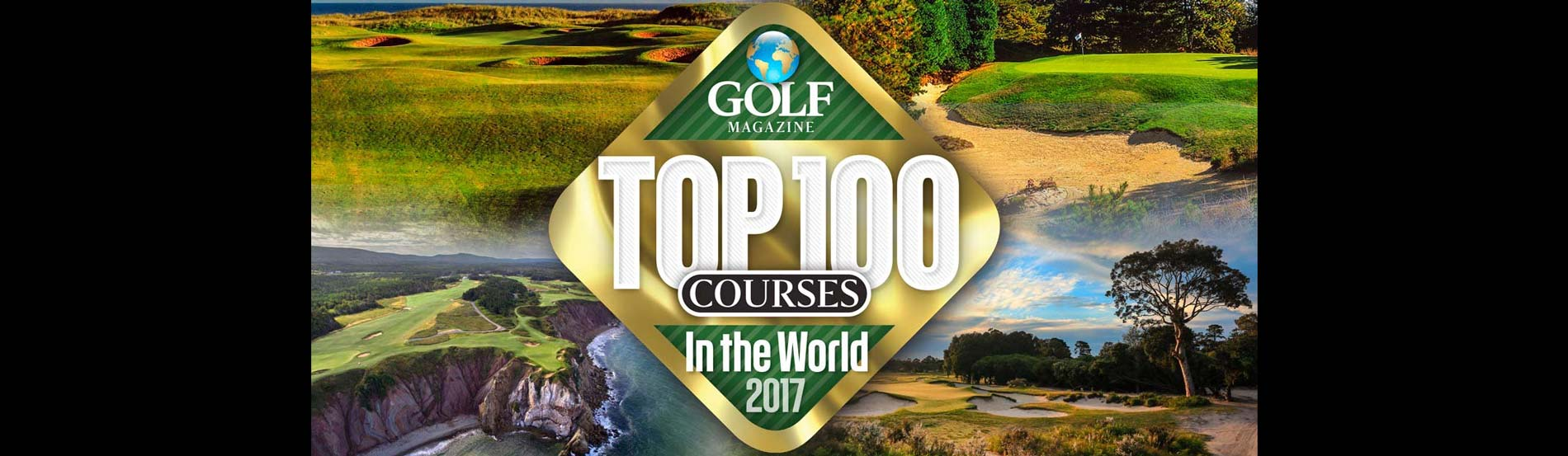 Top 100 Courses in the World 2017-2018.