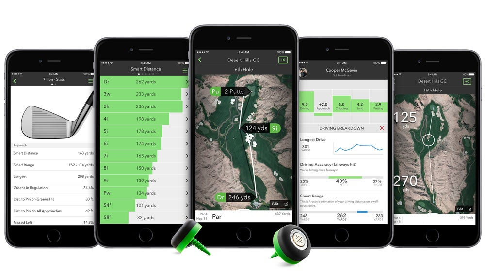 Arccos 360 Performance Tracking System, $250