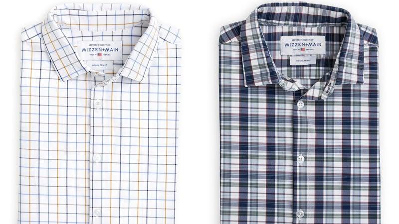 Mizzen+Main Dress Shirts, $125