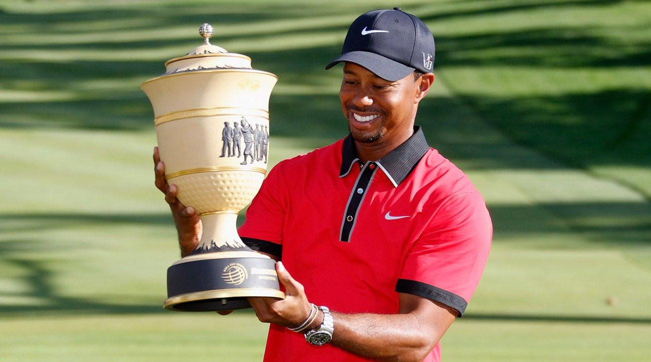 when was tiger woods u0026 39  last golf win