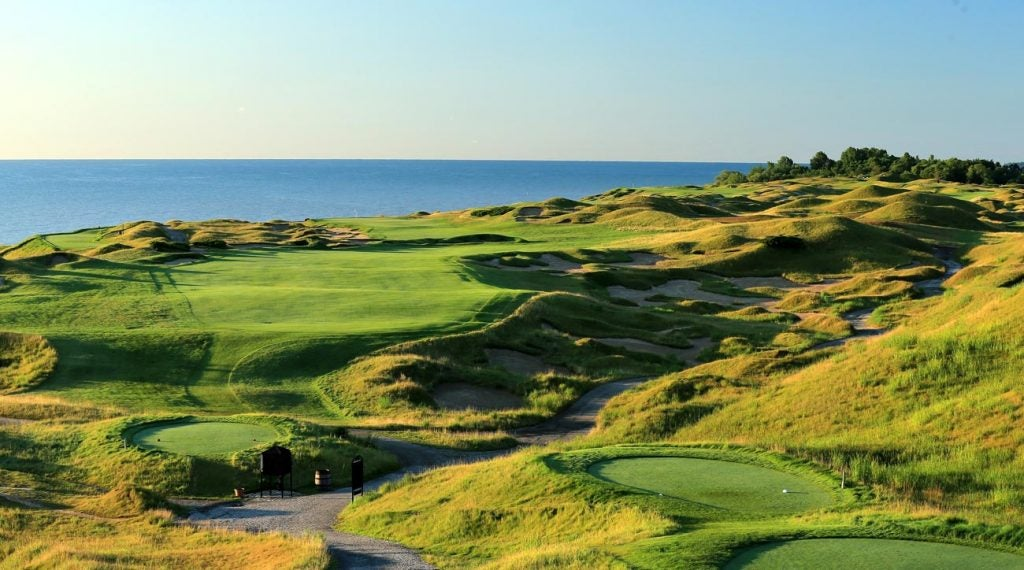Pete Dye creation Whistling Straits will host this year's Ryder Cup.