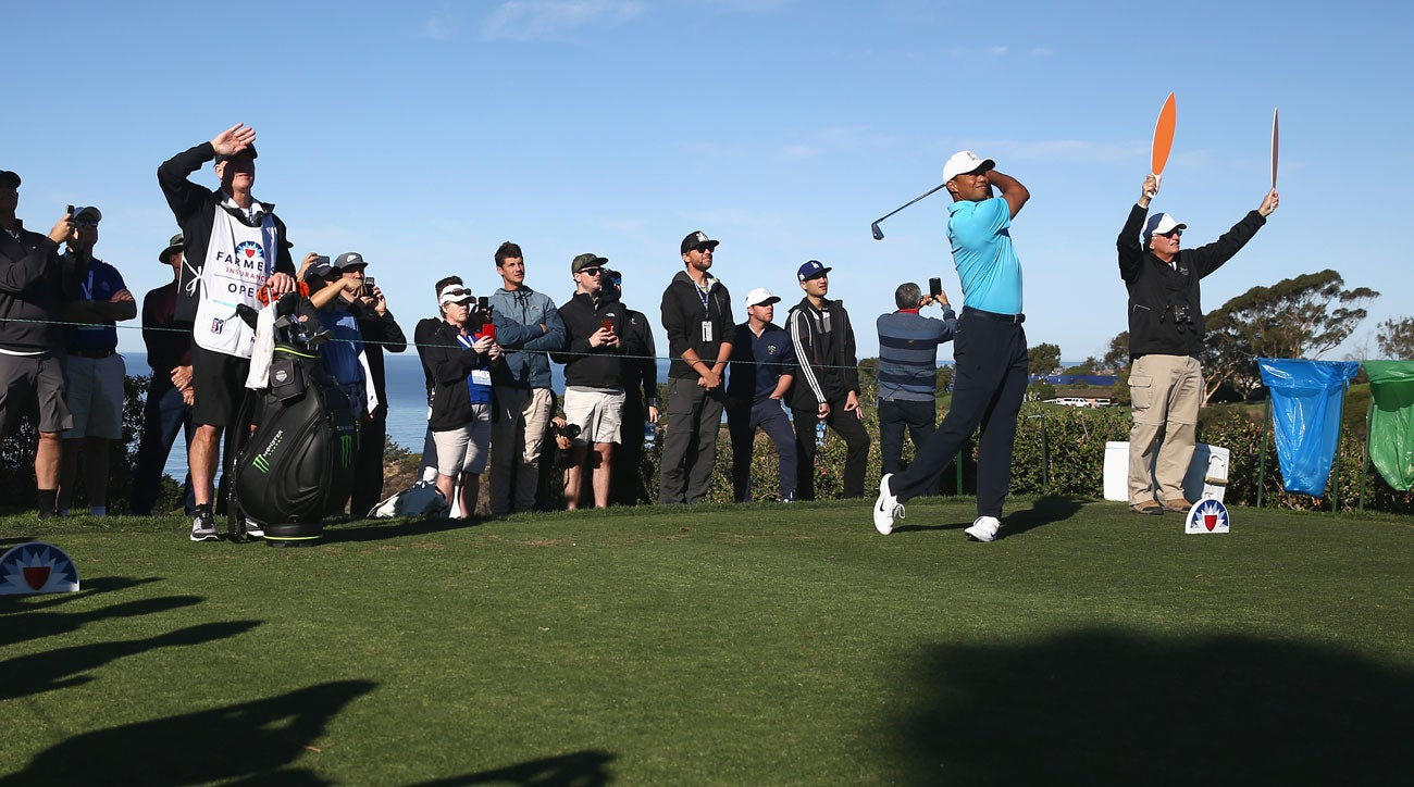 tiger woods live blog  round 1 of farmers insurance open 2018