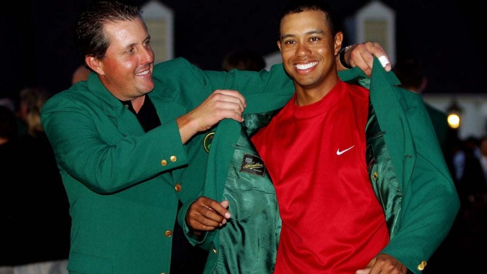 Tiger Woods has won four Masters titles and green jackets in his career.