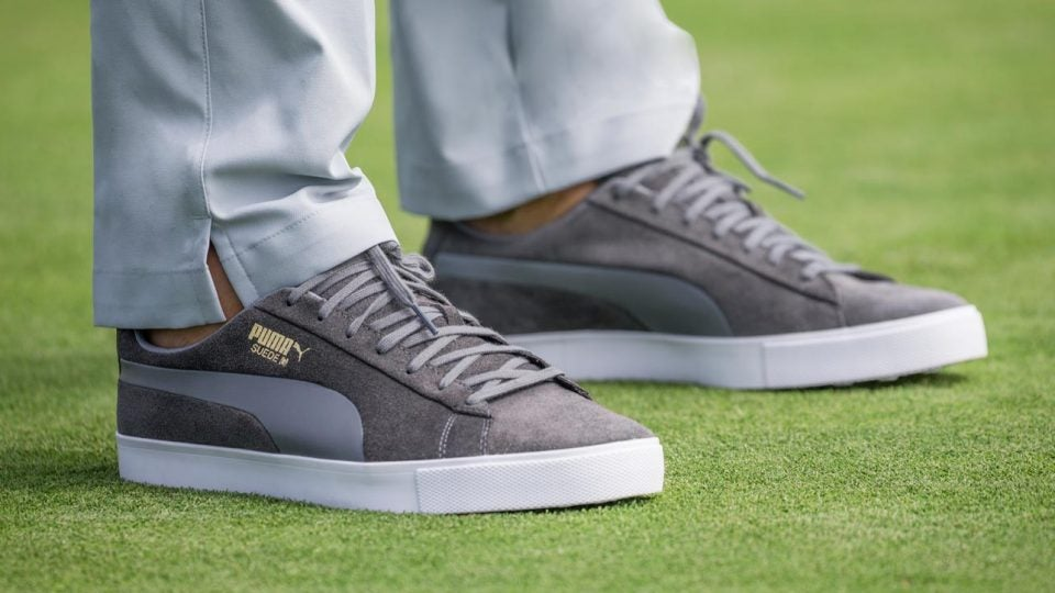 brand new cf569 3eff3 Puma introduces Suede G golf shoes for 50th anniversary
